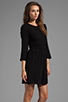 Image 3 of Dolce Vita Dosa Edgy Lace Dress in Black