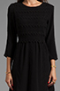 Image 5 of Dolce Vita Dosa Edgy Lace Dress in Black