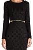 Image 6 of DV by Dolce Vita Bing Gold Dots Dress in Black