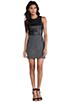 Image 2 of DV by Dolce Vita Maciee Checker Tweed Dress in Black/White