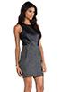Image 3 of DV by Dolce Vita Maciee Checker Tweed Dress in Black/White