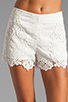 Image 4 of Dolce Vita Wira Shorts in White