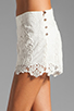 Image 5 of Dolce Vita Wira Shorts in White