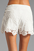 Image 6 of Dolce Vita Wira Shorts in White