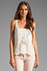 Image 1 of Dolce Vita Fionie Tank in White