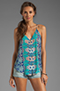 Image 1 of DV by Dolce Vita Juna Beach Bali Tank in Blue Multi
