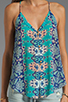 Image 3 of DV by Dolce Vita Juna Beach Bali Tank in Blue Multi