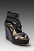Image 1 of DV by Dolce Vita Jury Wedge in Black