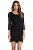 Image 1 of <DEPRECATED> Diane von Furstenberg Zarita Scoop Dress in Black
