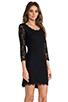 Image 3 of <DEPRECATED> Diane von Furstenberg Zarita Scoop Dress in Black