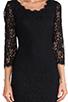 Image 5 of <DEPRECATED> Diane von Furstenberg Zarita Scoop Dress in Black