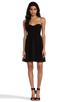 Image 2 of Diane von Furstenberg Asti Short Dress in Black