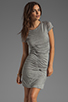 Image 1 of Diane von Furstenberg Meela Re-Twisted Dress in Grey