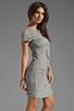 Image 3 of Diane von Furstenberg Meela Re-Twisted Dress in Grey