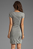 Image 4 of Diane von Furstenberg Meela Re-Twisted Dress in Grey