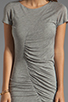 Image 5 of Diane von Furstenberg Meela Re-Twisted Dress in Grey