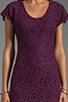 Image 5 of Diane von Furstenberg Wanda Dress in Purple Rose