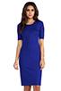 Image 1 of Diane von Furstenberg Raquel Dress in Tanzanite Blue