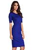 Image 3 of Diane von Furstenberg Raquel Dress in Tanzanite Blue