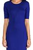 Image 5 of Diane von Furstenberg Raquel Dress in Tanzanite Blue