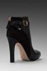 Image 4 of Diane von Furstenberg Charise Bootie in Black/Black