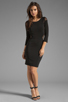 Image 2 of Elizabeth and James Roxy Dress in Black