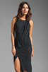 Image 1 of Elizabeth and James Willow Dress in Black