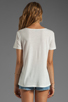 Image 2 of Elizabeth and James Kal Tee in White