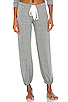 Image 1 of eberjey Heather Pant in Heather Gray