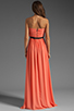 Image 4 of ERIN erin fetherston Skyscraper Gown in Fusion Coral