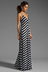 Image 3 of Eight Sixty Stripe Maxi in Scour/Black
