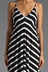 Image 5 of Eight Sixty Stripe Maxi in Scour/Black