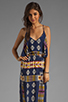 Image 1 of Eight Sixty Tribal Maxi in Navy