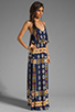 Image 3 of Eight Sixty Tribal Maxi in Navy