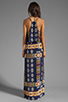 Image 4 of Eight Sixty Tribal Maxi in Navy