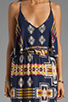 Image 5 of Eight Sixty Tribal Maxi in Navy