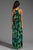 Image 4 of Eight Sixty Palm Maxi Dress in Blue/Green