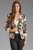 Image 1 of Eight Sixty Tea Party Blazer in Multi