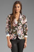 Image 2 of Eight Sixty Tea Party Blazer in Multi