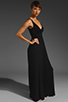 Image 4 of Eight Sixty Jersey Long Jumpsuit in Black