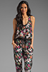 Image 1 of Eight Sixty Alice Floral Jumpsuit in Multi