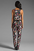 Image 4 of Eight Sixty Alice Floral Jumpsuit in Multi