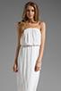 Image 1 of Ella Moss Stella Strapless Maxi in White