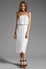 Image 2 of Ella Moss Stella Strapless Maxi in White