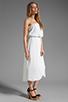 Image 3 of Ella Moss Stella Strapless Maxi in White