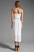 Image 4 of Ella Moss Stella Strapless Maxi in White
