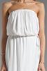 Image 5 of Ella Moss Stella Strapless Maxi in White