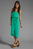 Image 2 of Ella Moss Stella Strapless Maxi in Jade