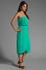 Image 3 of Ella Moss Stella Strapless Maxi in Jade