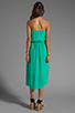 Image 4 of Ella Moss Stella Strapless Maxi in Jade